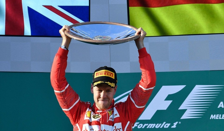 Sebastian Vettel a început cu dreptul sezonul 2017 al CM de Formula 1