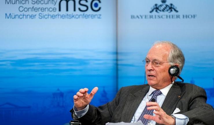 Preşedintele Conferinţei, Wolfgang Ischinger, fost ambasador al Germaniei la Washington