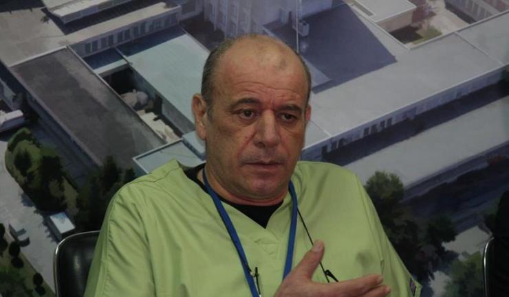 Șeful Clinicii de Chirurgie și Ortopedie Pediatrică a SCJU Constanța, prof. univ. dr. Constantin Tica