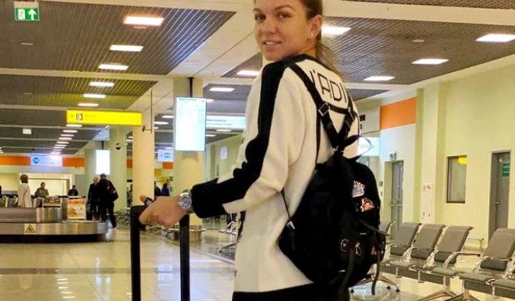 Simona Halep a plecat spre Shenzhen (sursa foto: Facebook Simona Halep)
