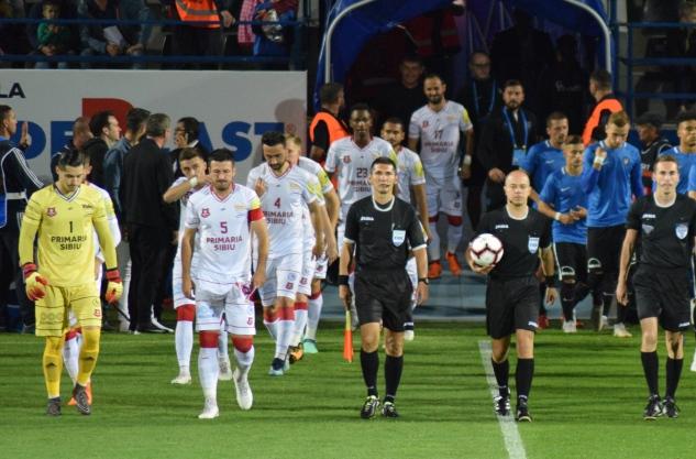 FC Hermannstadt mai are o şansă să evite retrogradarea