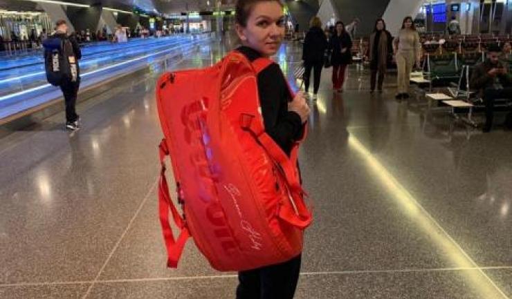 Simona Halep a ajuns în Australia (sursa foto: Facebook Simona Halep)