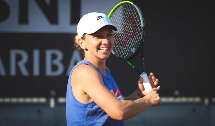 Luna trecută, Simona Halep s-a impus în turneul de la Roma