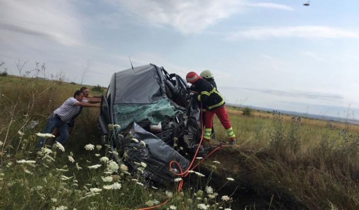Un militar din Medgidia a murit în timpul unui grav accident produs la Ciocârlia