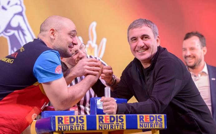 Ion Oncescu şi Gheorghe Hagi (sursa foto: Facebook Viitorul FC)