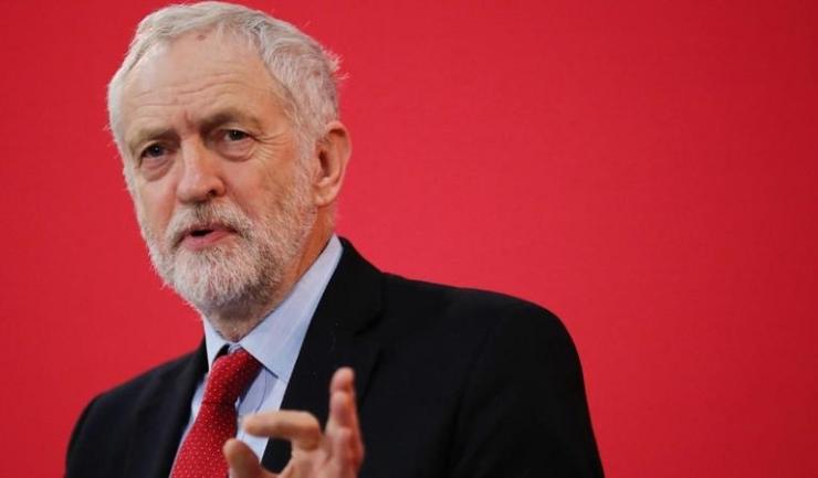 Jeremy Corbyn, liderul Partidului Laburist din Marea Britanie