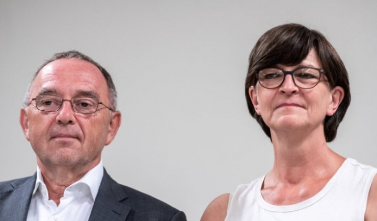 Norbert Walter-Borjans și Saskia Esken