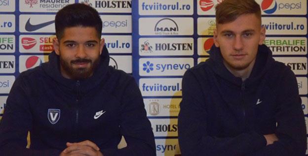 Ionuț Vînă și Denis Drăguș așteaptă să fie purtați spre victorie de un public numeros
