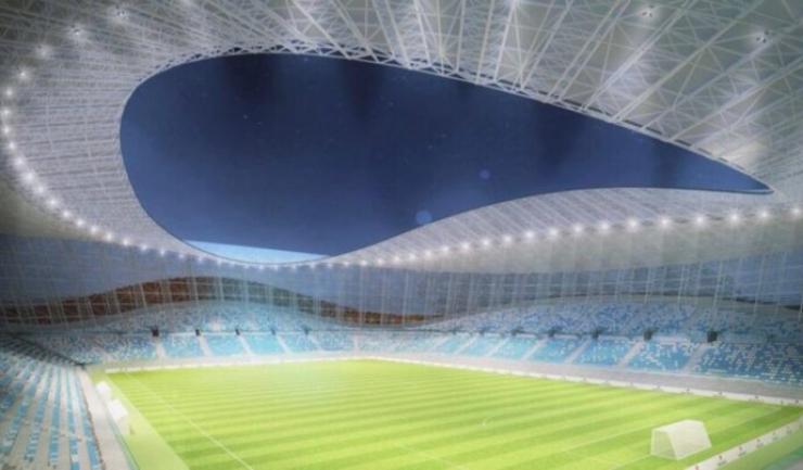 Proiectul include şi construirea unui stadion de cinci stele la Constanța!