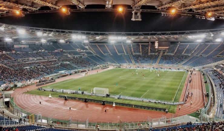 Foto, arhiva. Stadio Olimpico, Roma.