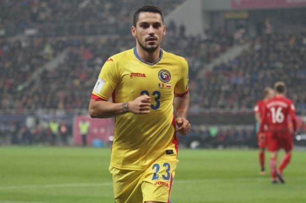 Nicolae Stanciu a pasat decisiv la golul victoriei formaţiei Slavia Praga