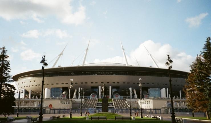 St Petersburg Stadium din Sankt Petersburg. Foto: Pexels.com