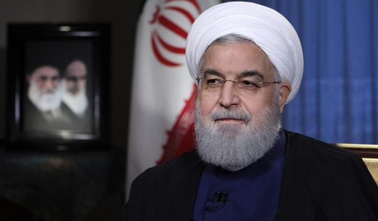 Preşedintele iranian Hassan Rouhani: ''Nimeni nu şi-a putut imagina că o persoană din America vine şi dă pământ unei alte ţări de ocupaţie, încălcând legi şi convenţii internaţionale
