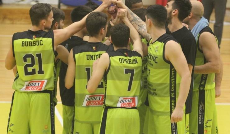 Baschet Club Athletic Constanța are numai victorii în primele trei etape