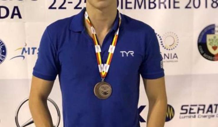 Eugen Susanu, medalie de bronz la juniori