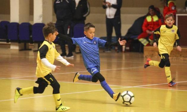 Tasis Piștalu a înscris patru goluri în primele două meciuri jucate de Academia Hagi (sursa foto: academiahagi.ro)
