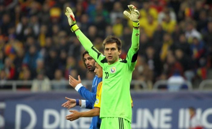 Portarul Ciprian Tătăruşanu a fost cel mai bun jucător al tricolorilor