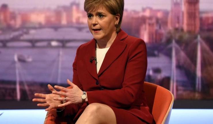 Prim-ministrul scoţian Nicola Sturgeon