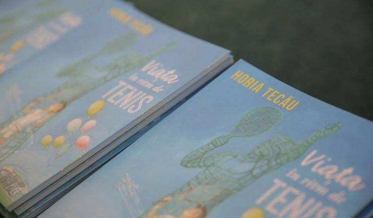 Prima carte scrisă de Horia Tecău prezintă momente din viaţa tenismanului constănţean (sursa foto: Federaţia Română de Tenis)