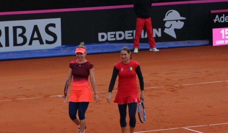 Simona Halep și Monica Niculescu