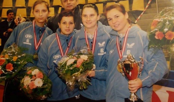 Cea mai bună echipă din Europa, atunci... în 2005: Samara, Zamfir, Ştef, Bădescu şi Viorel Filimon