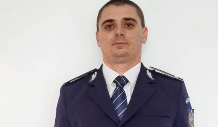 Agent de poliție Tiberiu Buzea