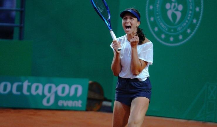 Patricia Ţig a câştigat la Istanbul primul ei trofeu WTA din carieră (sursa foto: TEB BNP Paribas Tennis Championship Istanbul)