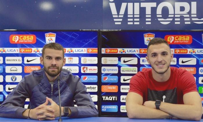 Bogdan Ţîru şi Virgil Ghiţă au refăcut cuplul de fundaşi centrali ai Viitorului