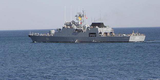 """Corveta """"Contraamiral Eustațiu Sebastian"""" (Cvt-264)  s-a alăturat operațiunilor de căutare-salvare"""