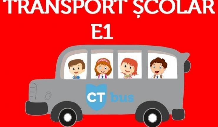 Autobuzele școlare CT Bus intră de luni pe traseu!