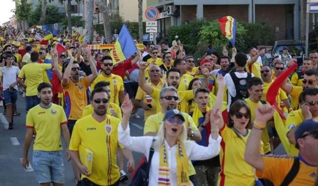 Suporterii tricolorilor au fost la înălţime (sursa foto: Facebook Echipa națională de fotbal a României)