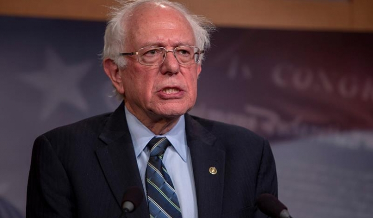 Senatorul Bernie Sanders