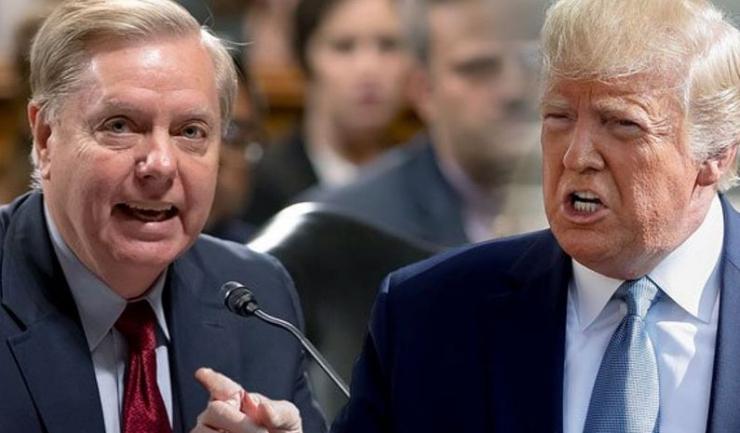 Lindsey Graham și Donald Trump