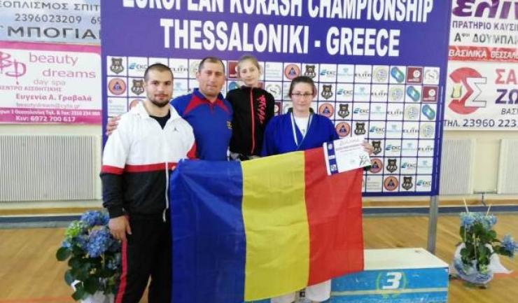 Eugenia Costache a obținut medalia de aur la Campionatul European de Kurash