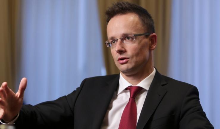 Ministrul de Externe al Ungariei, Peter Szijjarto