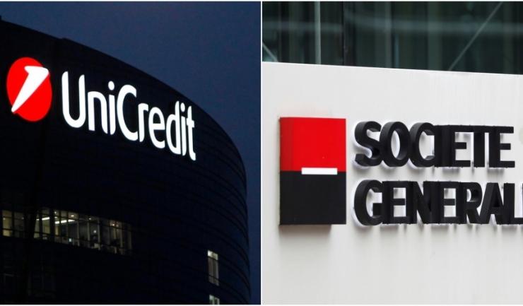 Italienii de la UniCredit ar intenționa să fuzioneze cu rivalii de la Societe Generale, potrivit Financial Times