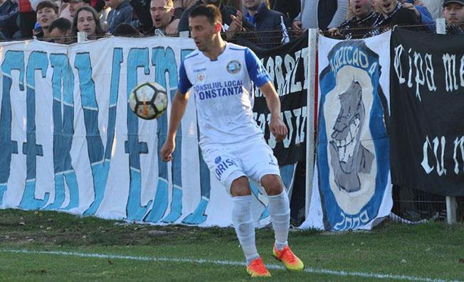 Cu trei goluri marcate, Vasile Șicu a fost omul meciului cu Oltenița
