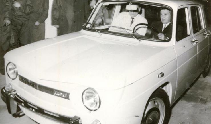 Primul autoturism ieșit pe poarta uziunei de la Mioveni a fost o Dacia 1100, în urmă cu fix 50 de ani