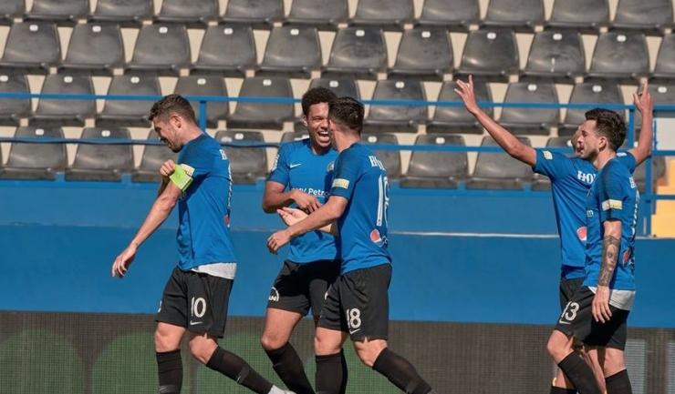 Gabriel Iancu, purtătorul banderolei de căpitan, este golgheterul Viitorului şi al campionatului