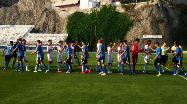 Echipa constănţeană a început meciul cu o formulă de joc inedită (sursa foto: www.fcviitorul.ro)