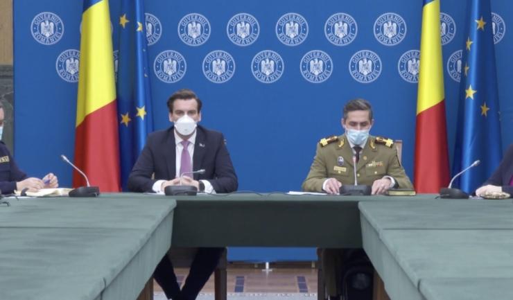 RO Vaccinare-Conferință de presă susținută de președintele Comitetului național de coordonare a activităților privind vaccinarea împotriva SARS-CoV-2 (CNCAV), Valeriu Gheorghiță