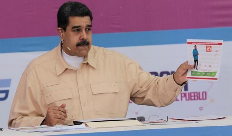 Președintele Venezuelei, Nicolas Maduro, a dus țara în faliment în doar câțiva ani