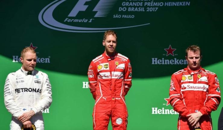 Sebastian Vettel a obținut a treia victorie din carieră la Interlagos