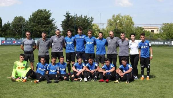FC Viitorul U17 a câștigat ambele meciuri din semifinala cu Sporting Juniorul Vaslui