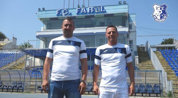 Adrian Vlas și Adrian Senin speră ca Farul să revină cât mai rapid în prima ligă (sursa foto: www.fcfarulconstanta.ro)