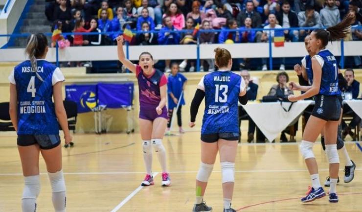 Voleibalistele de la CS Medgidia vor să obţină prima victorie în actualul sezon (sursa foto: Facebook Clubul Sportiv Medgidia)