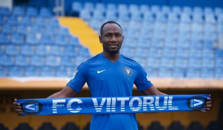 Jacques Zoua a înscris un gol în cele şase meciuri disputate în tricoul Viitorului (sursa foto: www.fcviitorul.ro)