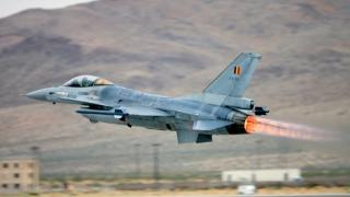 Avioanele de vânătoare belgiene ar putea participa la raiduri în Siria împotriva SI