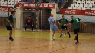 "Fotbal spectacol la Trofeul ""Telegraf"" de Valentine's Day"
