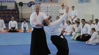 Aikido la nivel înalt la Constanța